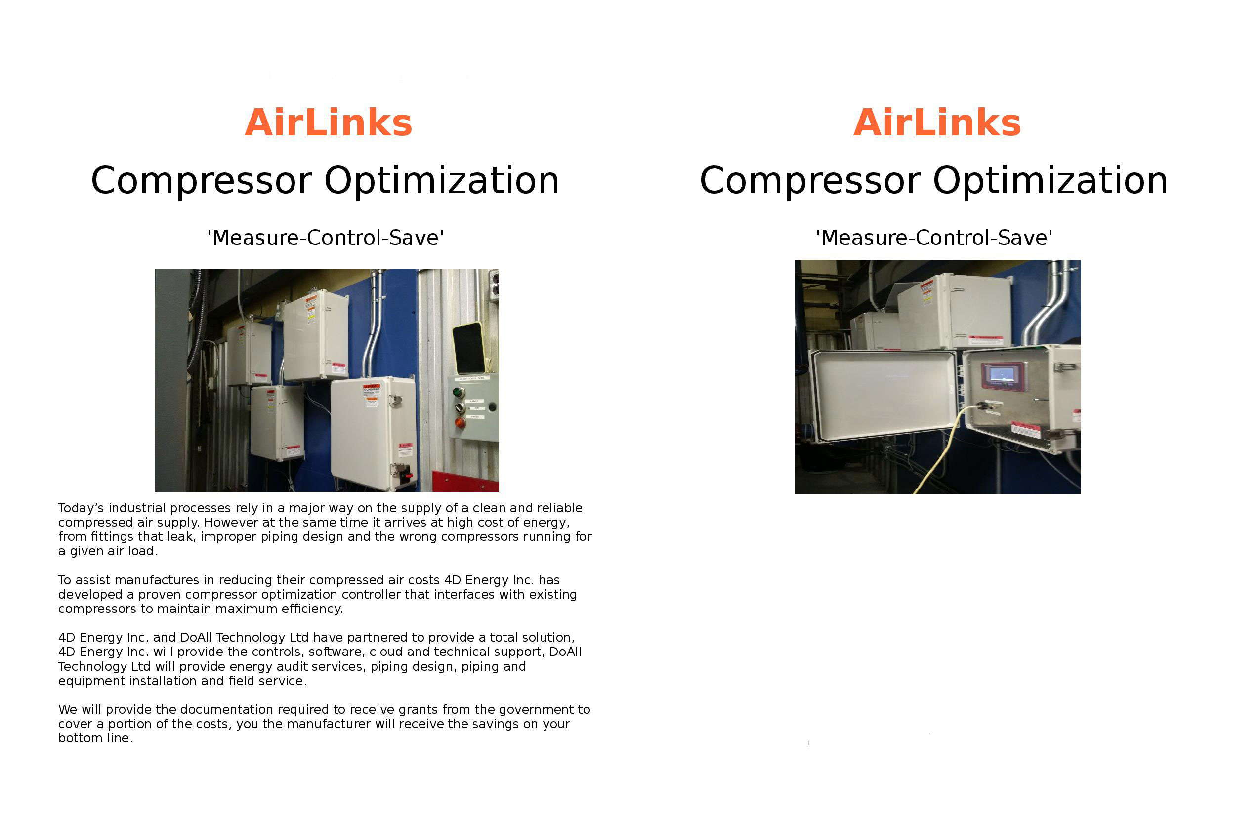AirLink - Compressor Optimization