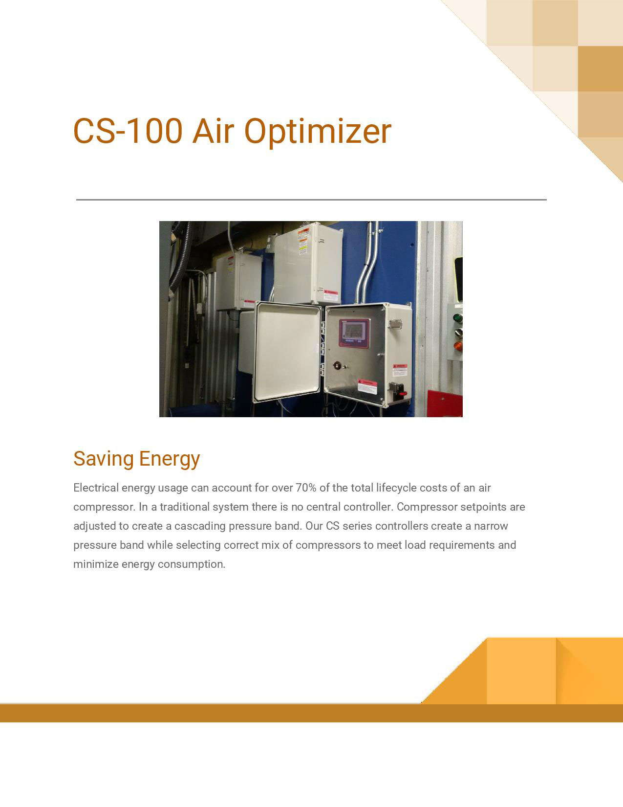 CS-100 Air Optimizer